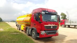 Ô tô xi téc (chở xăng) 26m3 – loại 5 trục