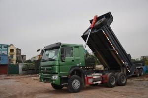 Ô tô tải tự đổ 3 trục thùng U