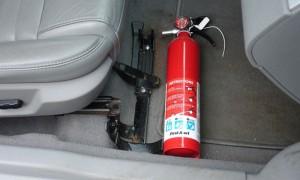 Cục cảnh sát PCCC: 'Ôtô chưa lắp bình cứu hỏa không được đăng kiểm'