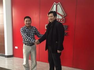 Chuyến công tác và tham quan nhà máy sản xuất xe Trung Quốc