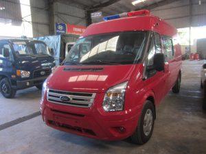 Ô tô chở chỉ huy chữa cháy FORD TRANSIT
