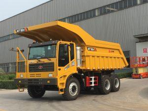 Xe ben 90 tấn chạy Mỏ