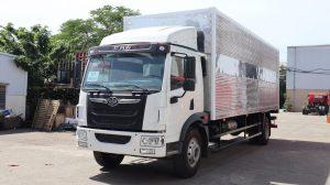 Ô tô tải (thùng kín) – FAW/GIAIPHONG khoảng cách trục 6500mm