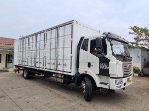 Ô tô chở Pallet chứa cấu kiện điện tử – FAW/GIAIPHONG